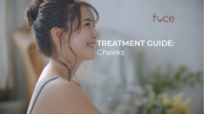 treatment guide cheeks